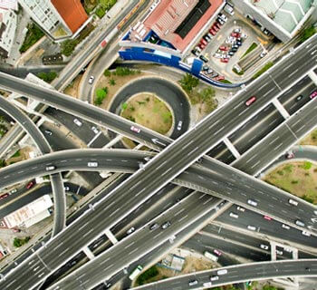 Autobahnkreuzung
